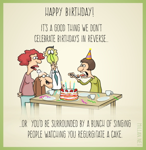 Reverse Birthday